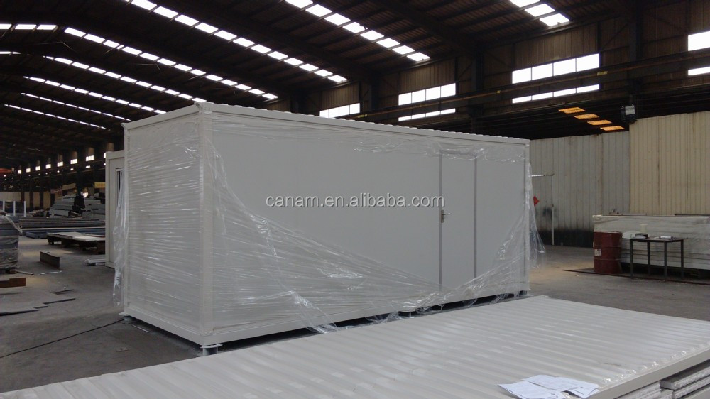 good quality low cost prefabricated container house refugee camp