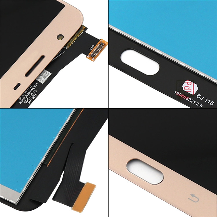 LCD Display + Touch Panel For Samsung Galaxy J7 Prime G610 G610F digitizer + frame