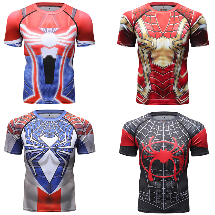 Cody Lundin Marvel Vestiti Supereroe Spiderman Tshirt Idoneità