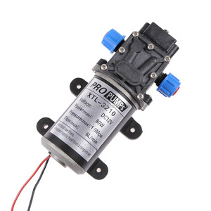 New DC 12V 6L/min 6A High Pressure general electric hand Water Pump with Reflux Valve 80W