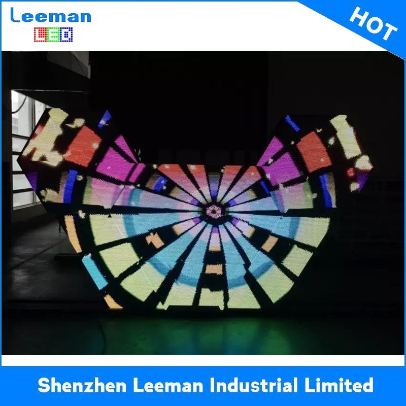 circular led display indoor p5 p4p5p6 sphere led display screens high quality led outdoor tv billboard
