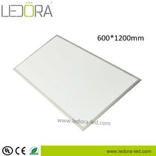 High-end led aluminium led lights 60*120cm 50W 72W 140lm/w indoor light cleanroon light