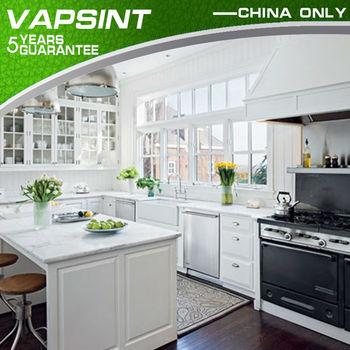 Shaker Pvc Perla Blanco Gabinetes De Cocina Precios - Buy Product on ...