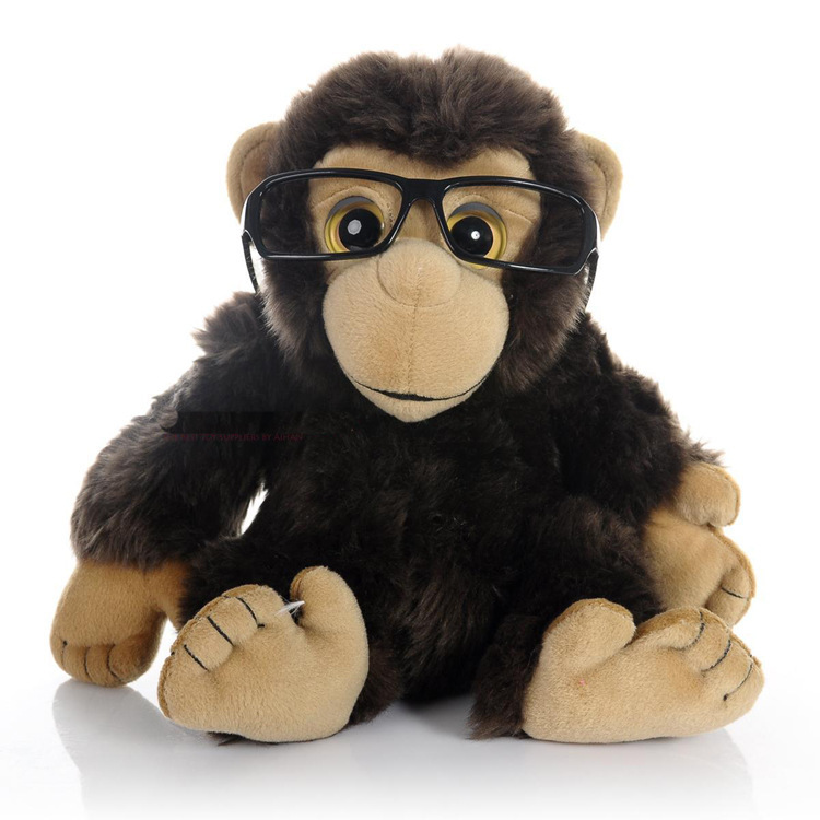 Dr. Monkey plush toys soft orangutan toys plush stuffy toy