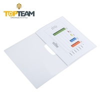 Brand Office stationery Transparent folder stationery swing clip file