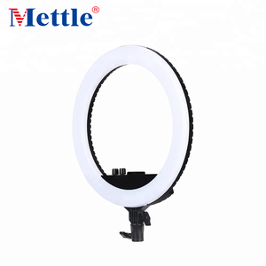 Mettle Hot Sale LED Dual Color Dimmable Ring Light Photo studio Photographic Lighting for Phone and Camera Ring Light