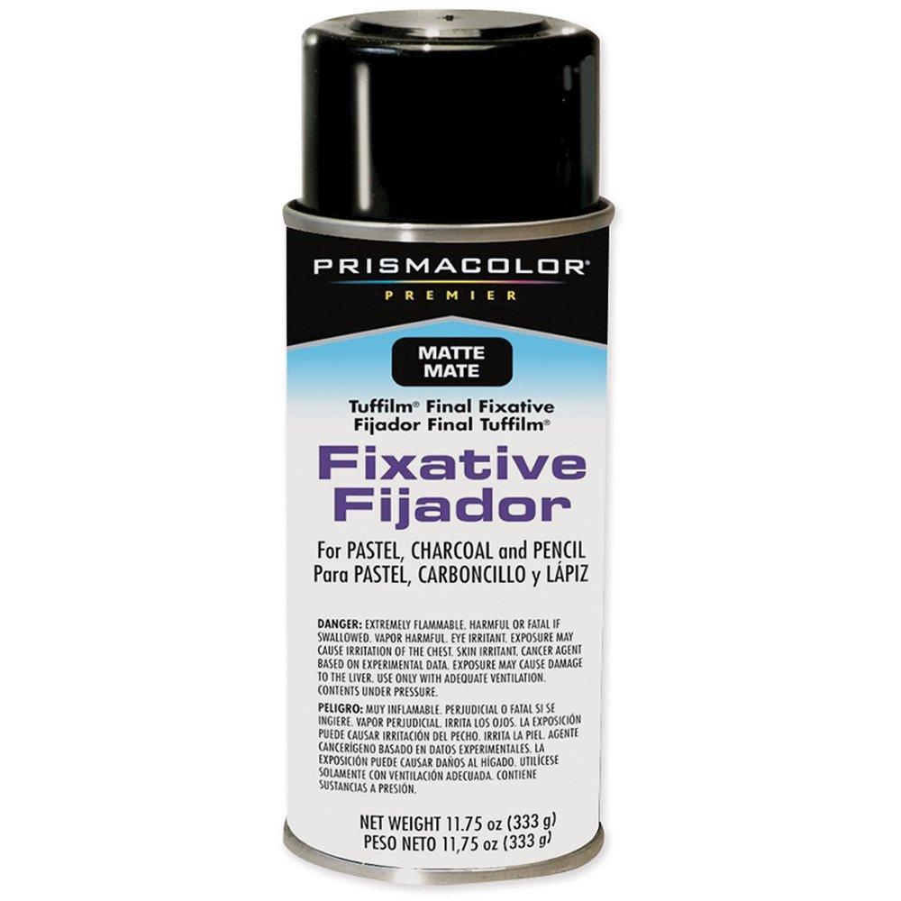 Prismacolor Premier Tuffilm 11-3/4-Ounce Final Fixative Aerosol Spray, Matte (4596)