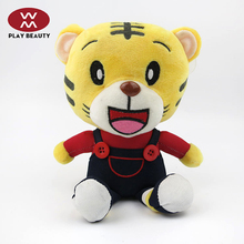 Hot Selling Soft Toys Cute PP Cotton House Tiger Doll Toys