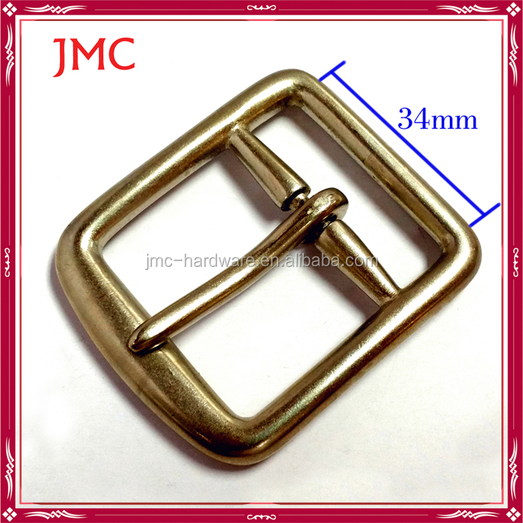 chastity zinc alloy metal belt buckle for 40mm tape