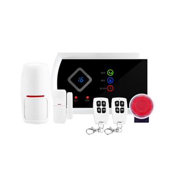 2016 New Arrival Android APP Wireless GSM Alarm System G10A for Home Security