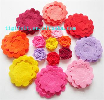Wholesale Felt Flowers