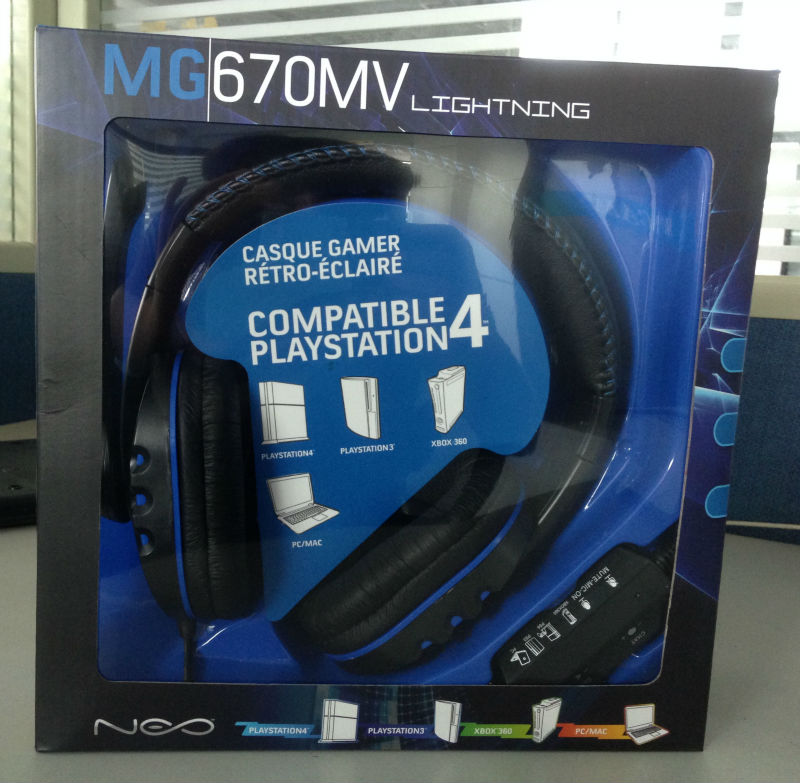 Promotional Oem 4 In1gaming Wired Headband Headphones For ...