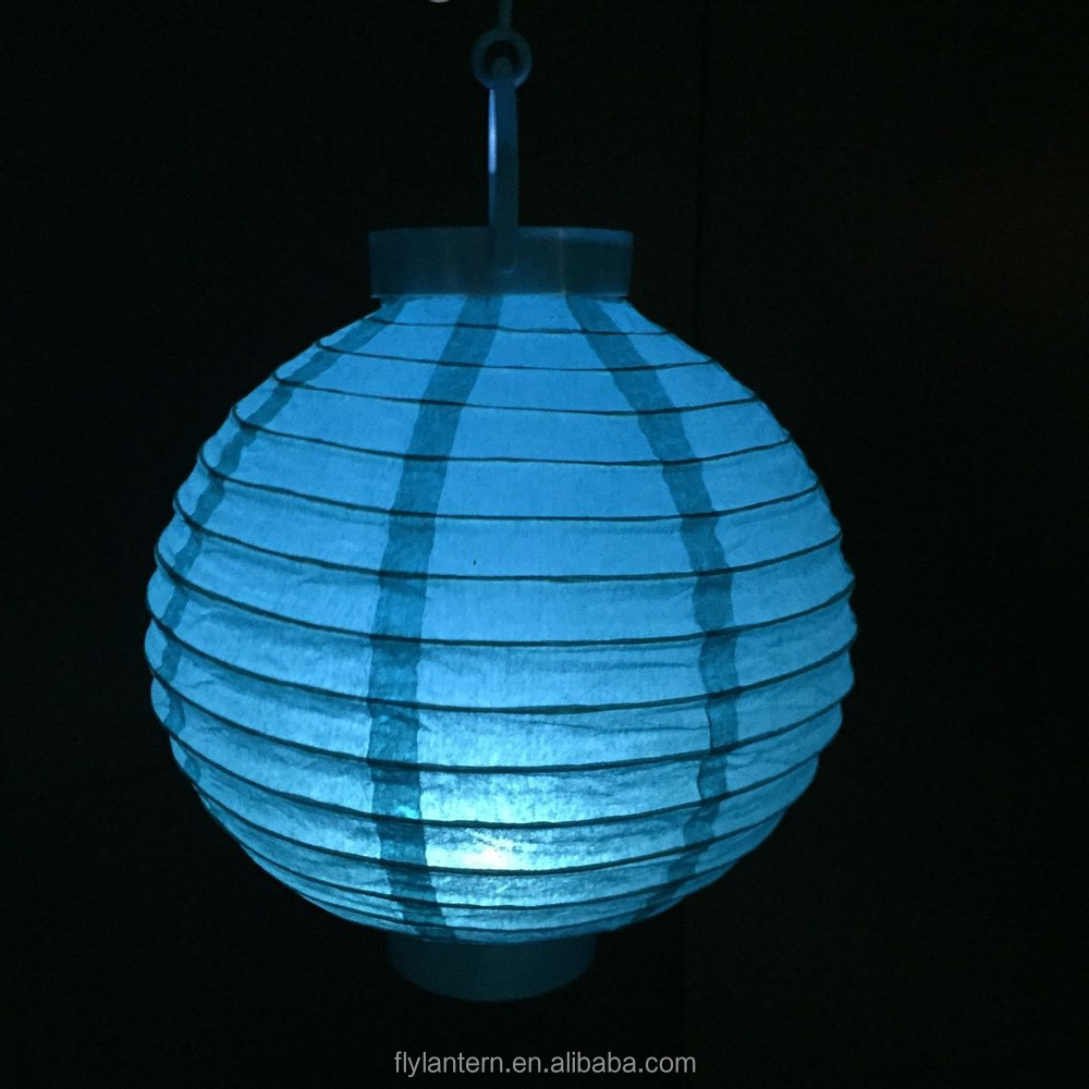 Battery Operated Chinese Paper Lantern With Led Light Buy Light Up
