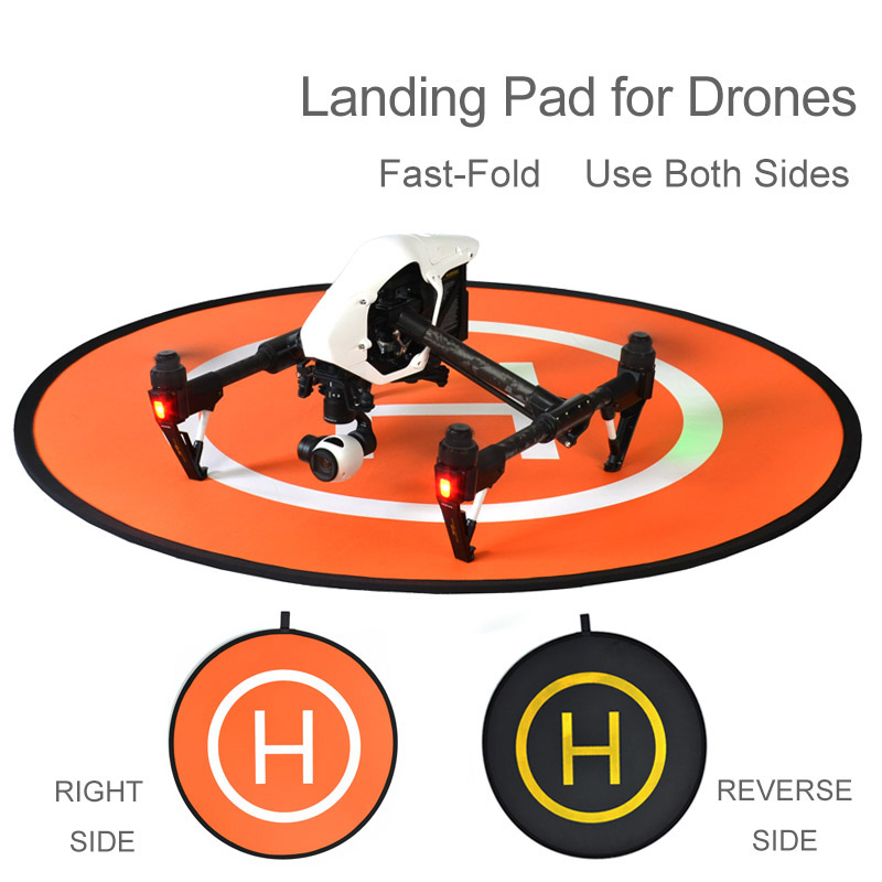 Fast-fold protective landing pad helipad For DJI phantom 2 3 4 inspire 1 RC Drone Quadcopter