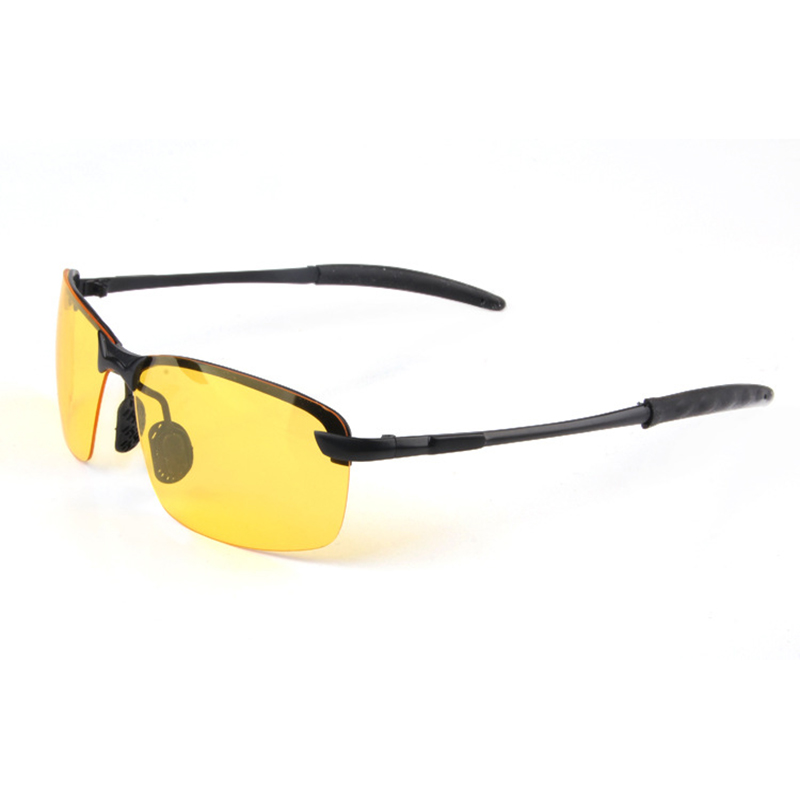 Outdoor Riding Sunglasses Reflective Night vision Anti glare Goggles UV400 Car sunshade Plarization Sunglasses