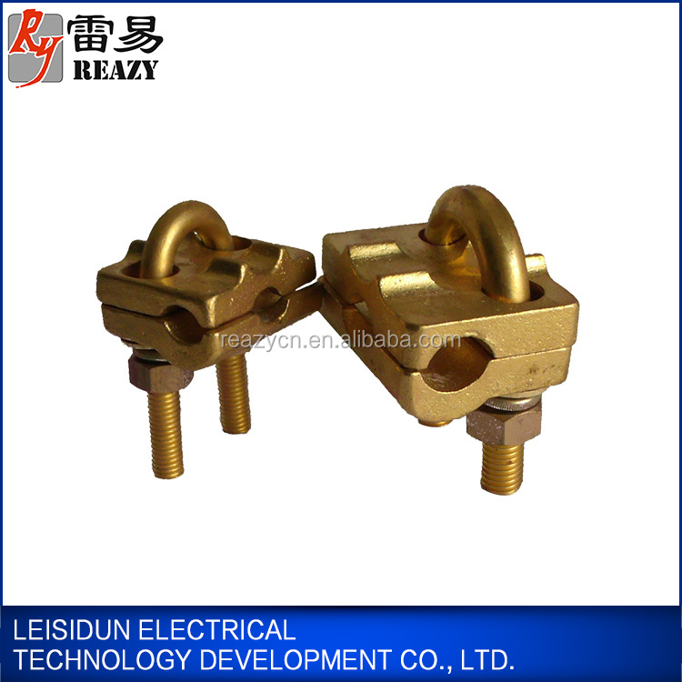 Portable Grounding Devices U-bolt Clamp Earth Wire Copper ...