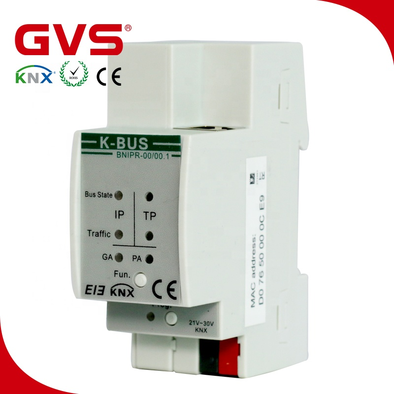 2019 Knx Manufacturer Gvs K-bus Knx/eib Knx Ip Router Knx Smart Home  Products Via Remote Control Smart Phone/tablet Control - Buy Smart Home