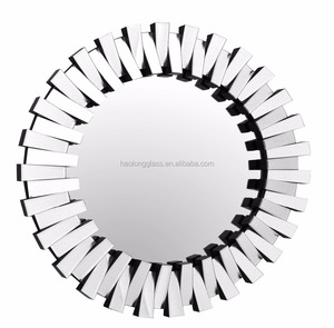 BEST SELL 3D ROUND WALL MIRROR