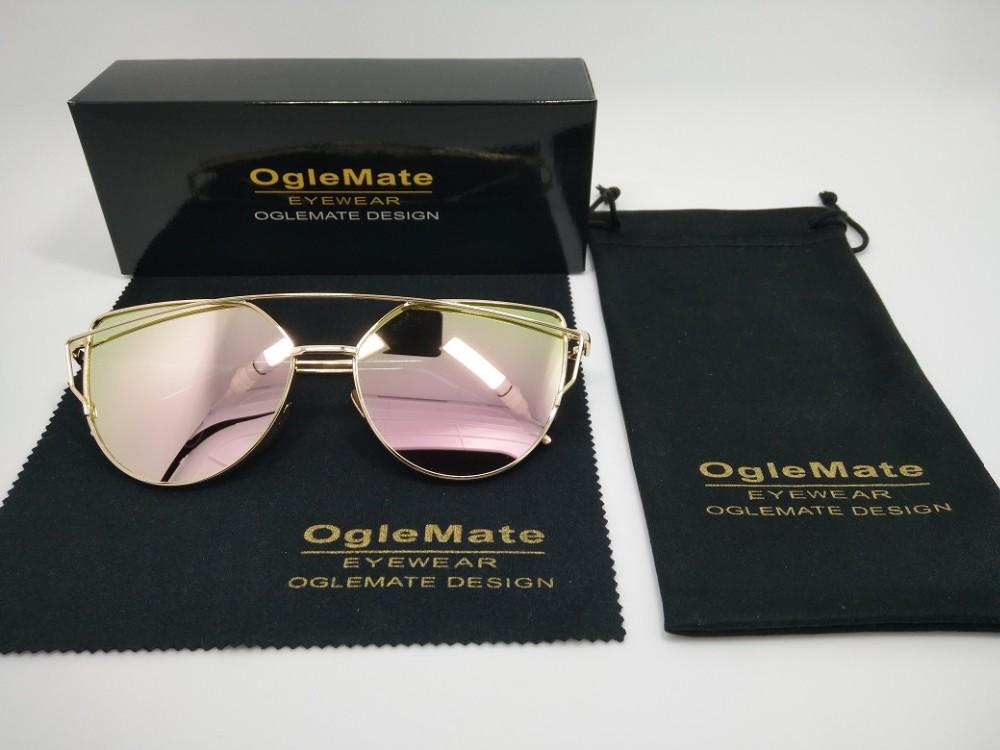 Free Shipping Amazon Wholesale Oglemate Brand Cat Eye Mirror Lens ...