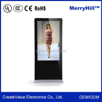 Flat Screen 55 inch LCD LED TV Multi-languages Analog Television