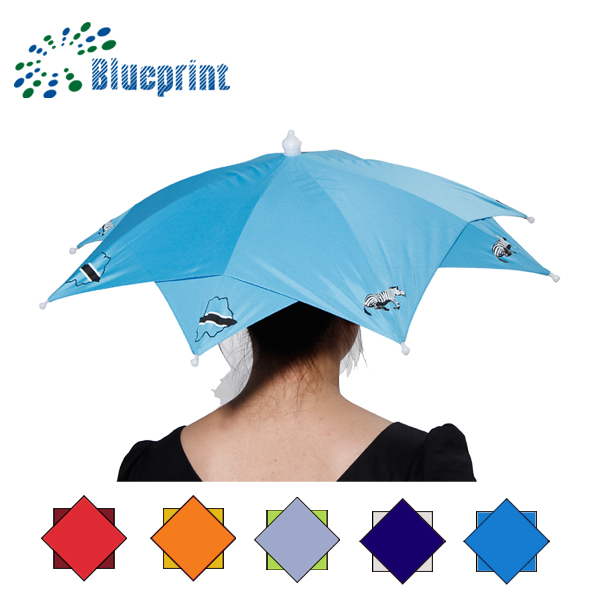 umbrella factory China on head 12inch mini special shape umbrella