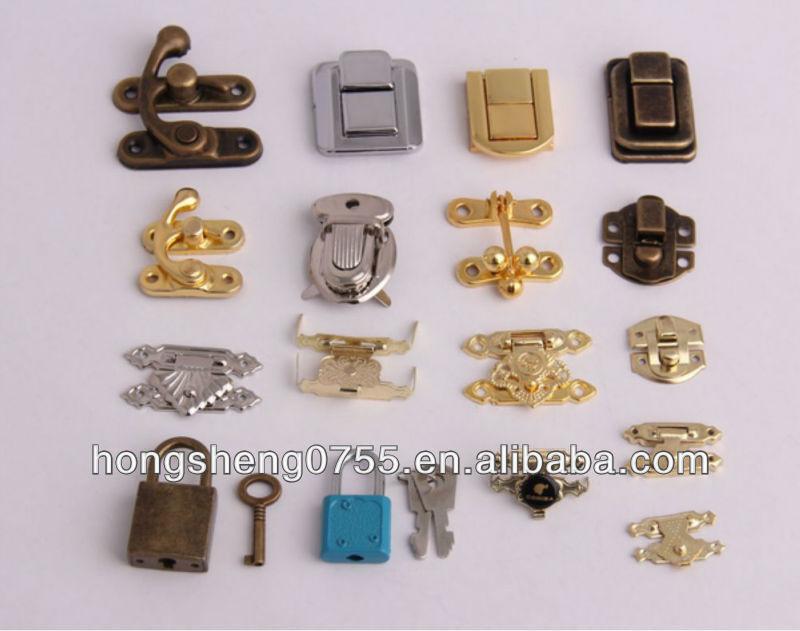 Mini Gift Box Lock Small Jewelry Box Latch Fashion Metal Lock Latch