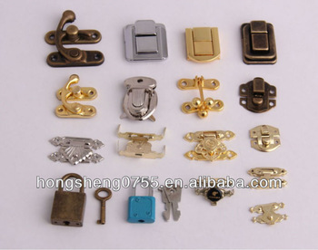 mini gift box lock small jewelry box latch fashion metal lock latch