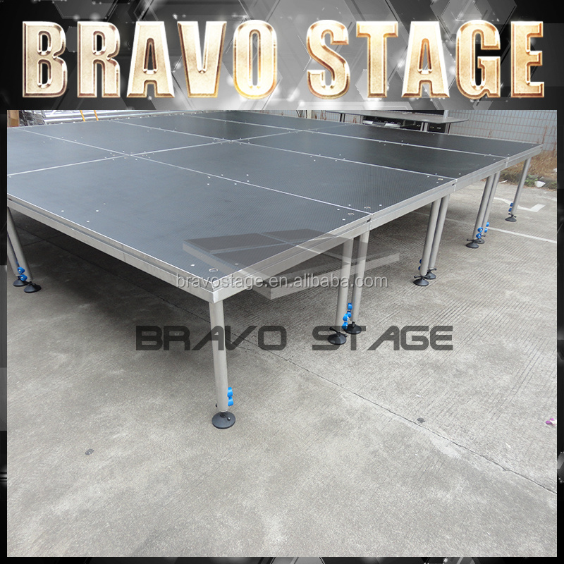Portable Bleachers For Sale Assembly Stage Wooden Stage Floor Portable Stage Legs