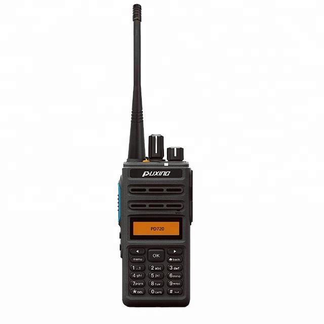 Dmr transceptor digital de 200 milhas walkie talkie