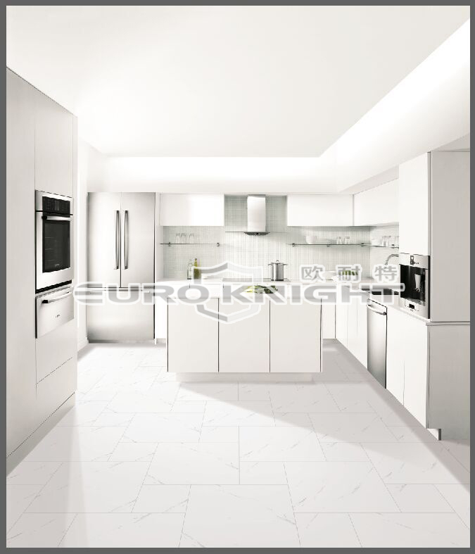 Calacatta Gold White Polished Glazed Porcelain Floor 60 X 60mm Super
