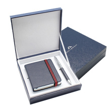 gift box set leather notebook pen gift set