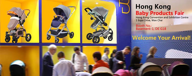 Baby Stroller 3 In 1 Luxury High Landscape Travel System Baby Pram