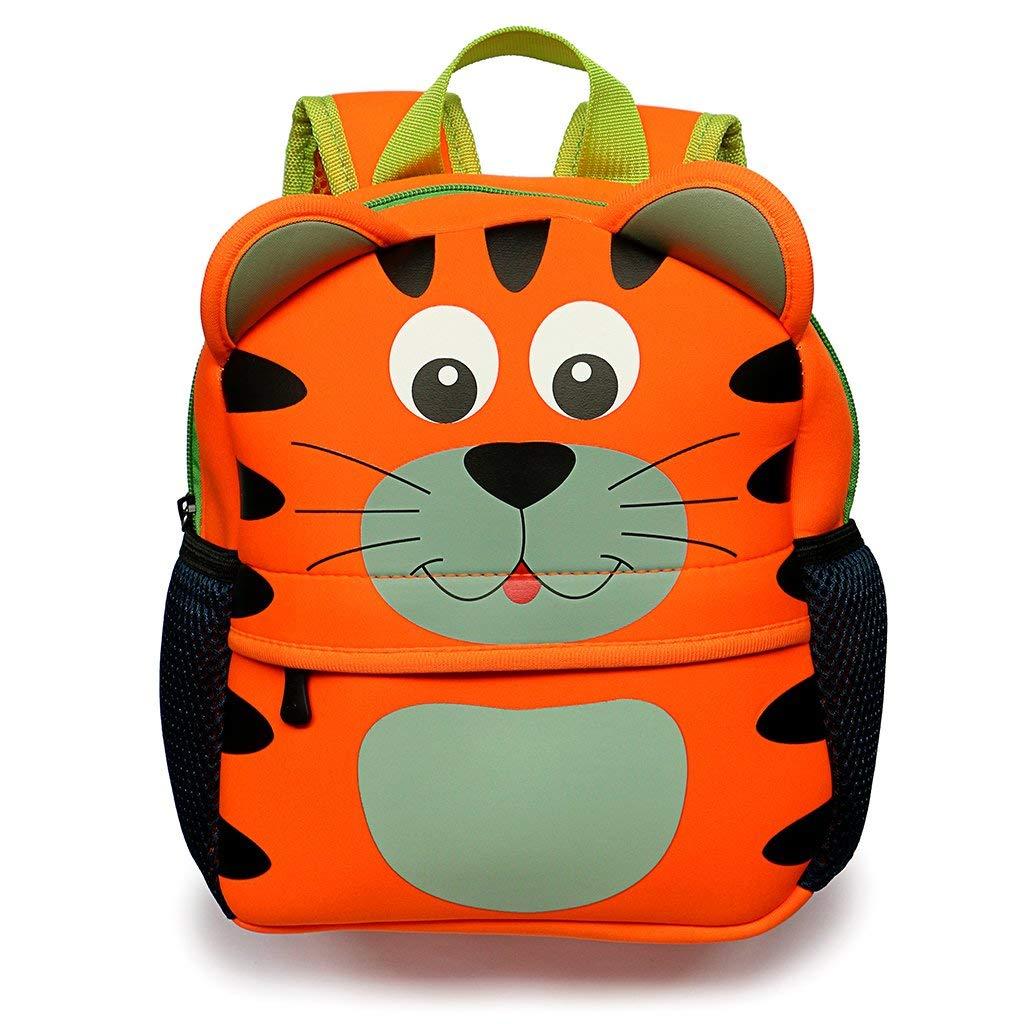 8dd817ac1d16 Get Quotations · Hipiwe Little Kid Toddler Backpack Baby Boys Girls Kindergarten  Pre School Bags Cute Neoprene Cartoon Backpacks