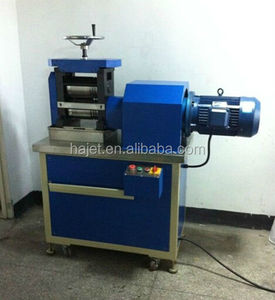 High Quality Jewelry Making Tools 12HP Single Head Electrical Dual Flat Rolling Mill Electric Rolling Mill for Jewelry