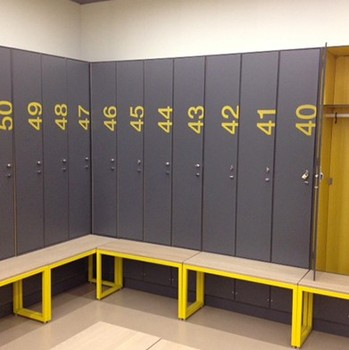 Lijie durable hpl locker for hotel office cabinet gym locker room