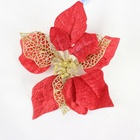Artificial christmas flower for christmas day decoration