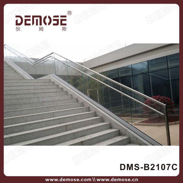 Base U Channel/shoe Aluminum Glass Railing