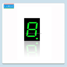 "0.8"" Outdoor Green 7 Segment One Digit LED Display"