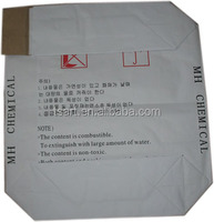 50kg Block Bottom Kraft Paper Valve Chemical Bags