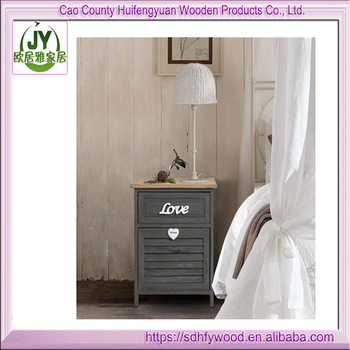 Hot Sell Shoe Cabinet White Shabby Chic 2 Folding Wallet Multi Coloured  Paulownia Wood Hallway