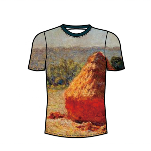 Digital T-shirt Printing Customize print artist painting Artist's work Tee Shirt