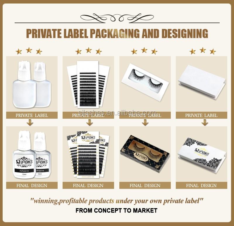Own Brand/oem/private Label Wholesale 3d 100% Mink Fur False ...