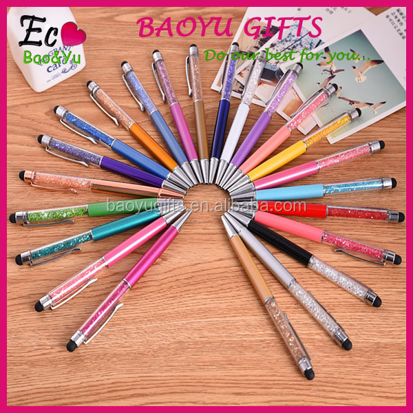 Promotional Crystal Stylus/touch Pen Crystal Ball Pen