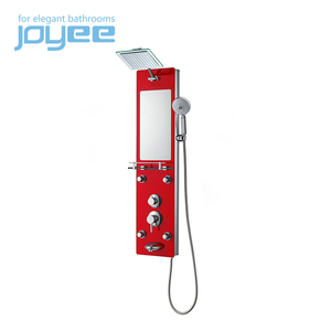 JOYEE shower panel tower steam wooden shower panel