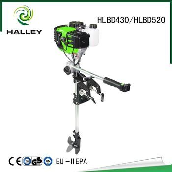 Halley Brand New 2 Stroke Engines Gasoline Outboard Motor For Sale Hlbd520  - Buy Outboard Motor,Outboard,Brand New 2 Stroke Outboard Motor Product on