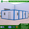 luxury light steel framing prefabricated container house