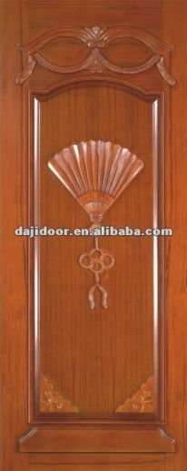Wooden House Main Doors Wood Carving Design DJ S202
