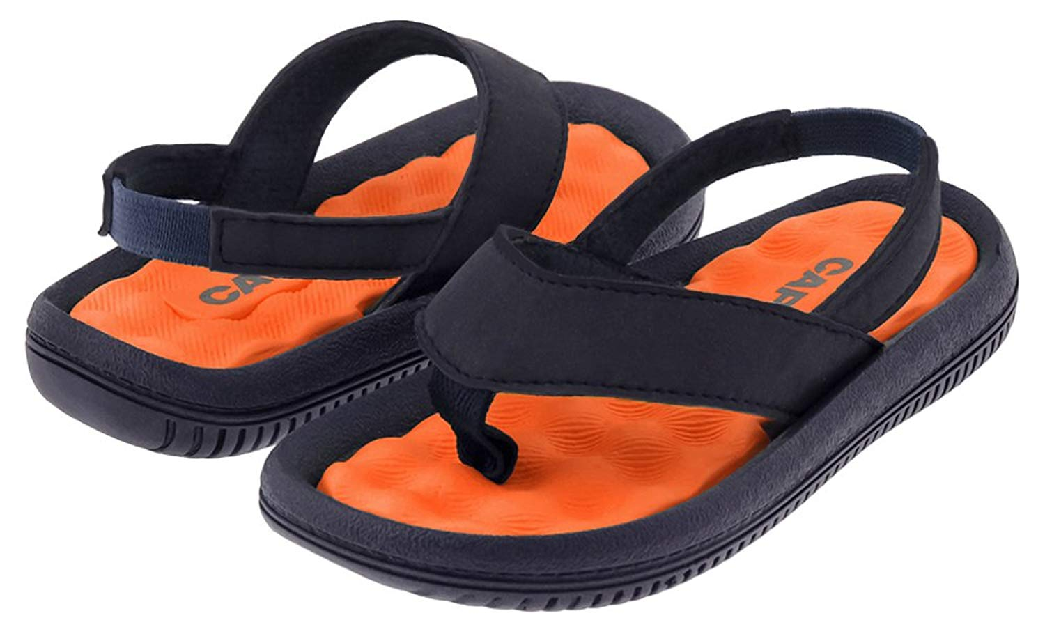 Capelli New York Faux Leather Thong Toddler Boys Flip Flop