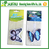 New design hanging paper butterfly car air freshener