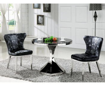 Wholesale Shunde Furniture Small Glass Coffee Table Foshan Silver